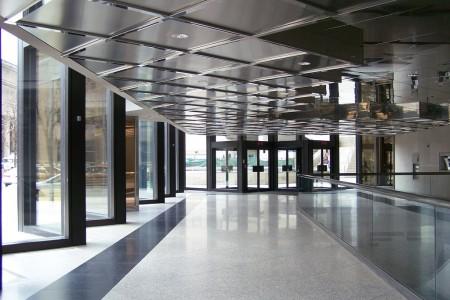 Nettoyage de vitres intérieur commercial