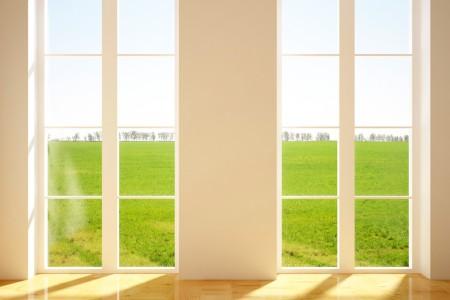 Lavage de vitres intérieures